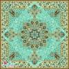 مربع گلدیس فیروزه ای